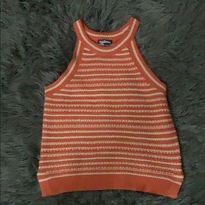 Freshman brand sleeveless sweater